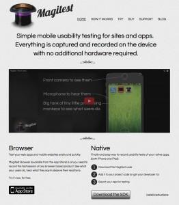 Magitest site Version 2
